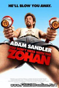 You Don't Mess with the Zohan (2008) Drama / Comedie / Actiune