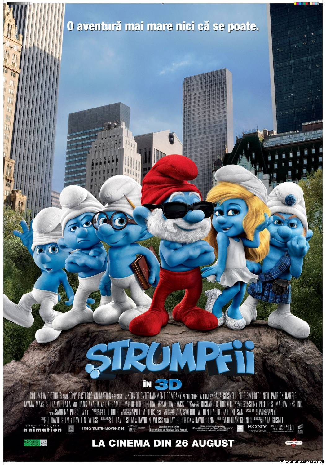 The Smurfs – Strumpfii (2011)