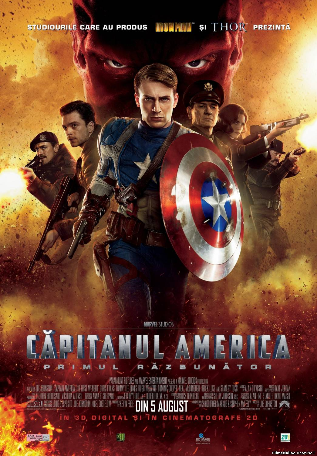 Captain America: The First Avenger – Capitanul America: Primul razbunator (2011)