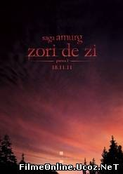 The Twilight Saga: Breaking Dawn Part 1 - Saga Amurg: Zori de Zi Partea 1(2011)